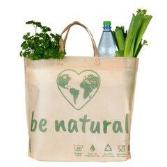 Papírová taška 500 x 400 + 75 mm be natural