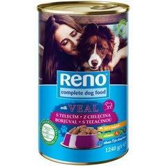 Reno Dog konzerva telecí kousky 1240 g