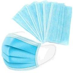 Rouška ochranná třívrstvá modrá