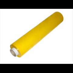 Ruční stretch fólie na balení kufrů žlutá