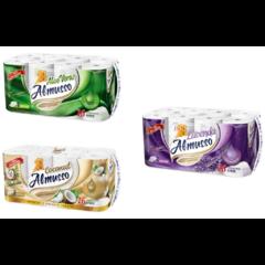 XXL Toaletní papír Almusso 3 vrstvý 16 rolí
