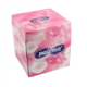 Paloma kosmetické kapesníky v krabičce Cube Box 60 ks, 100% celulóza růžové