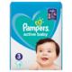 Pampers active baby 3 (6-10 kg) plenky 15ks