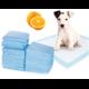 Podložky pro psy a štěňata 60 x 60 cm - 5 ks - Pomeranč