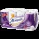 XXL Toaletní papír Almusso 3 vrstvý 16 rolí Levandule